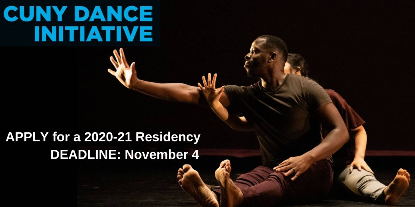 Dance News: Apply For CUNY Dance Initiative 2020-21 Before November 4, 2019