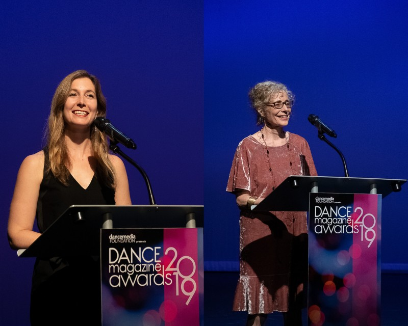 Jennifer Stahl and Wendy Perron of Dance Magazine