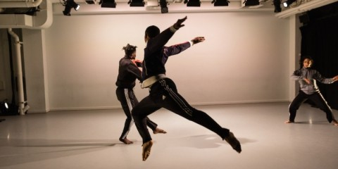 Impressions of Gibney Dance's Work Up Series 2.4