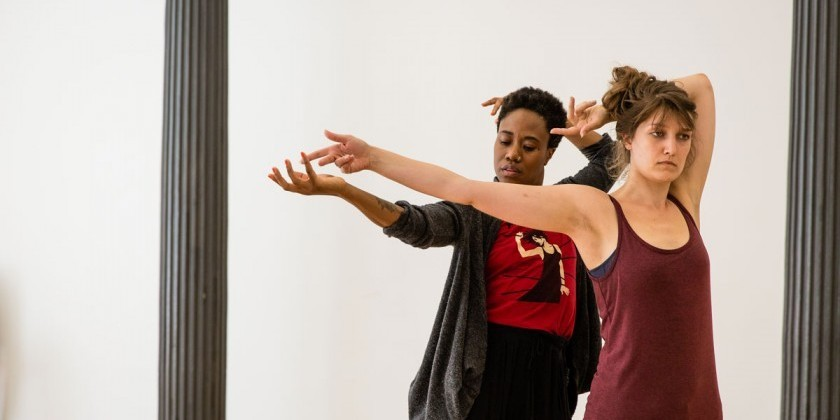 Time, Space, and Composition Workshop with Jon Kinzel at Gibney Dance!
