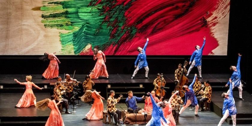 "Impressions from California: Mark Morris' ""Layla and Majnun"""