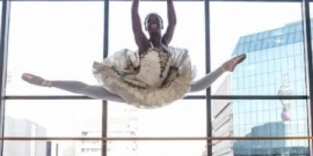 Youngest soloist at the Dance Theatre of Harlem to make publishing debut