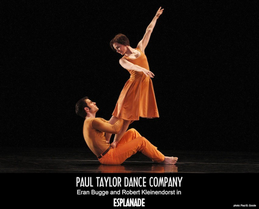 Paul Taylor Dance Company in Fall for Dance at Delacorte Theater in Central Park.