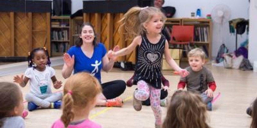 Early Childhood Workshop at National Dance Institute