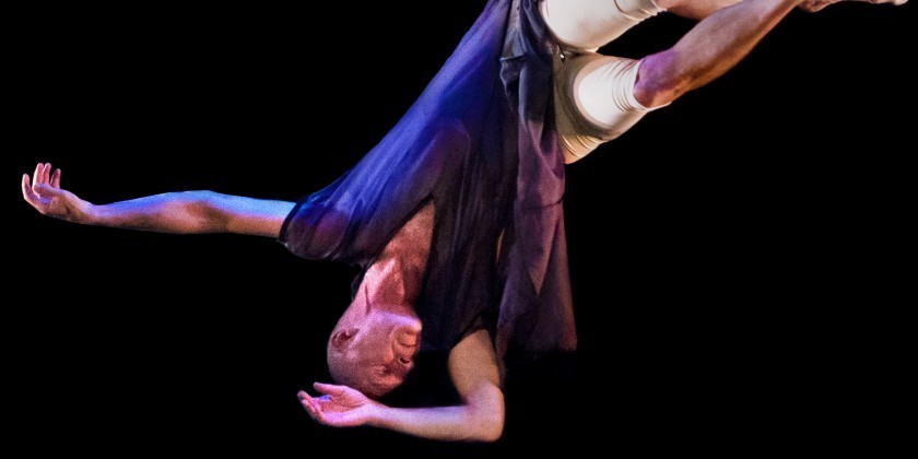 Julie Ludwick and Fly-by-Night Dance Theater Celebrate Groundbreaking Aerial Artist, Robert Davidson, in the Airborne Festival at Manhattan Movement Arts Center