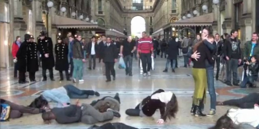 The Martha Graham Company Creates a Flash Mob in Milan
