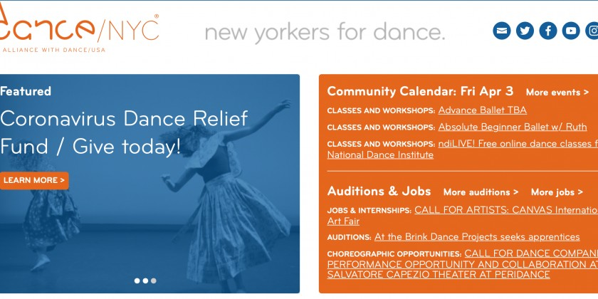 Dance/NYC & the New York State Council on Nonprofits Share Info Re The Paycheck Protection Program (PPP)