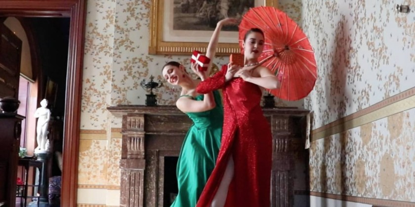 "SOCIAL DISTANCE DANCE VIDEO: Breton Tyner-Bryan shares her ""Ballet Hartford Holiday,"" A Collaboration with Ballet Hartford and The Mark Twain House and Museum"