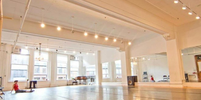 Gibney Dance offers ongoing rehearsal space