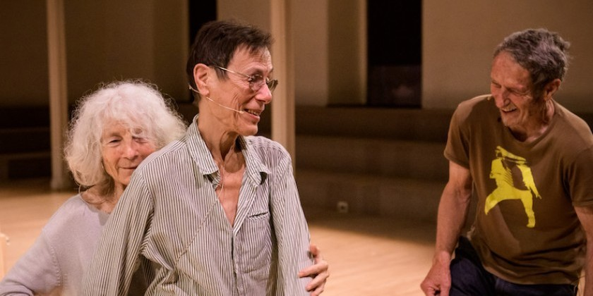 IMPRESSIONS: Tea for Three: Simone Forti, Steve Paxton, and Yvonne Rainer at Danspace Project