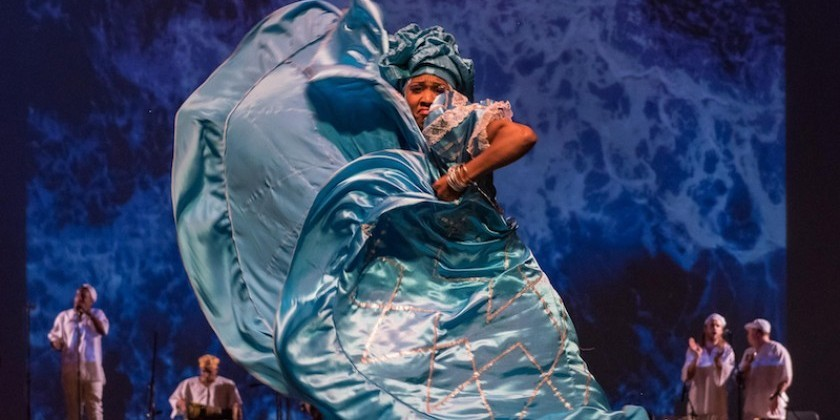 "Impressions of ""Siete Mares"" Presented by Oyu Oro Afro Cuban Experimental Dance Ensemble"