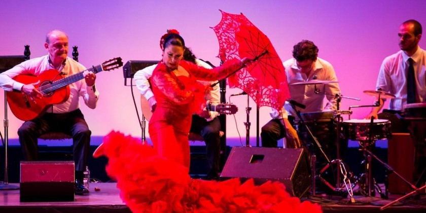"LOS ANGELES, CA: La Rubia Productions presents ""Herencia Flamenca"""