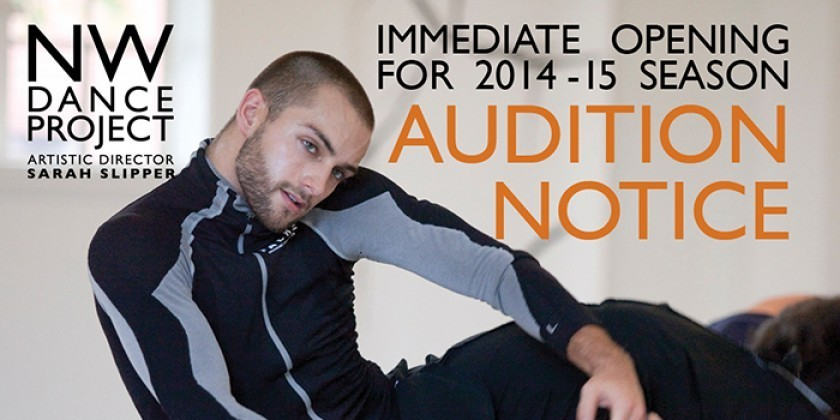 PORTLAND: NORTHWEST DANCE PROJECT COMPANY AUDITION - SEP 6 + 7