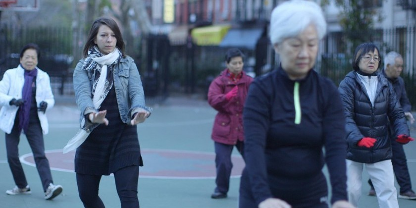 """Bare Feet in NYC with Mickela Mallozzi,"" a Dance Travel Series"