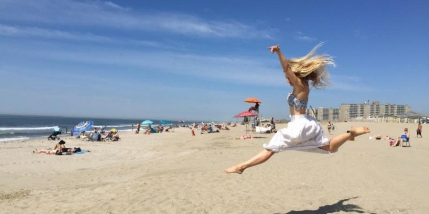 BEACH SESSIONS: ROCKAWAY'S FIRST OUTDOOR SUMMERTIME CONTEMPORARY DANCE PERFORMANCE SERIES