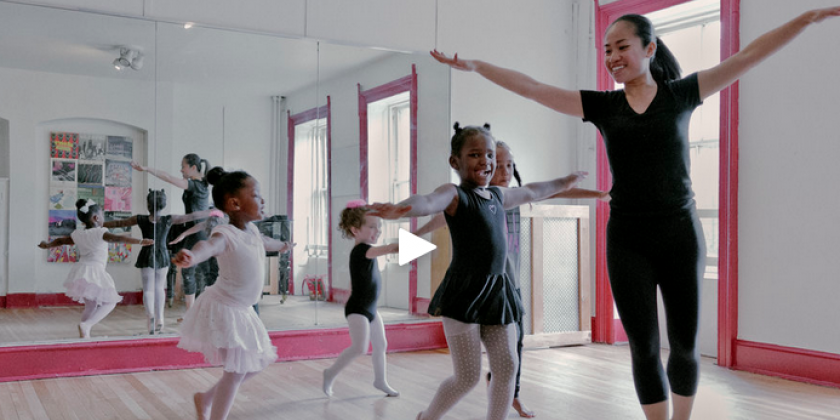 Creative Movement for Dancers Aged 3-5 Years at Brooklyn Music School