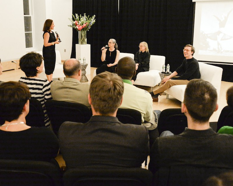 Panel Discussion with Janet Eilber, artistic director of the Martha Graham Dance Company, Valerie Steele, curator of the Museum at the Fashion Institute of Technology; and Reid Barthelme, sought out dance and fashion designer.