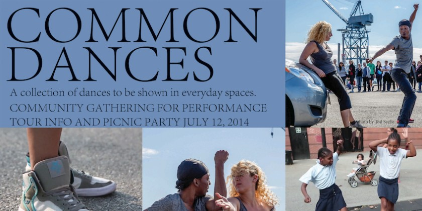 COMMON DANCES Community Gathering and Picnic Party Performance