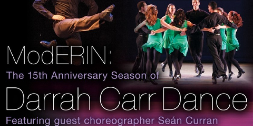 A Halloween Event, 15th Anniversary with Guest Choreographer Seán Curran, and A Book Launch!‏