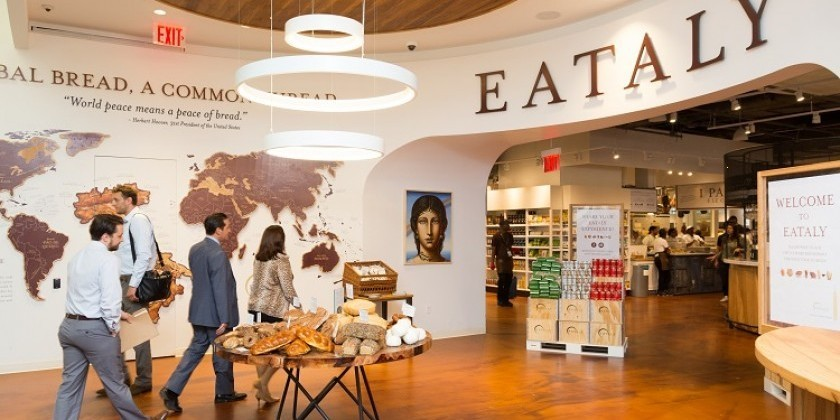 Baruch Performing Arts Center announces a Flash Mob at Eataly Flatiron