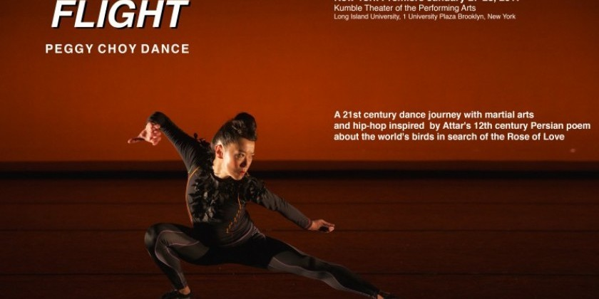 "Audition for Peggy Choy Dance Performance ""FLIGHT"""