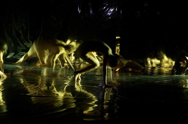 Garnica LEIMAY in FURNACE at the CAVE NY Butoh Festival 2009.Yana Kraeva: Photographer