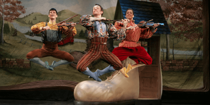"New York Theatre Ballet in ""Mother GOOSE!"""