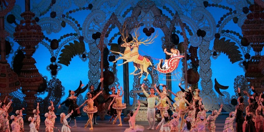 New York Theatre Ballet in The New York Pops 'Twas the Night before Christmas