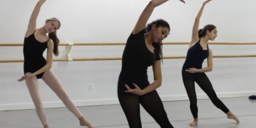 Intermediate/Advanced Teen Contemporary Workshop at Mark Morris