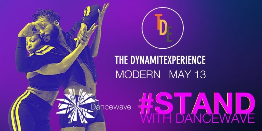 STAND WITH DANCEWAVE: Modern Master Class with The DynamitExperience