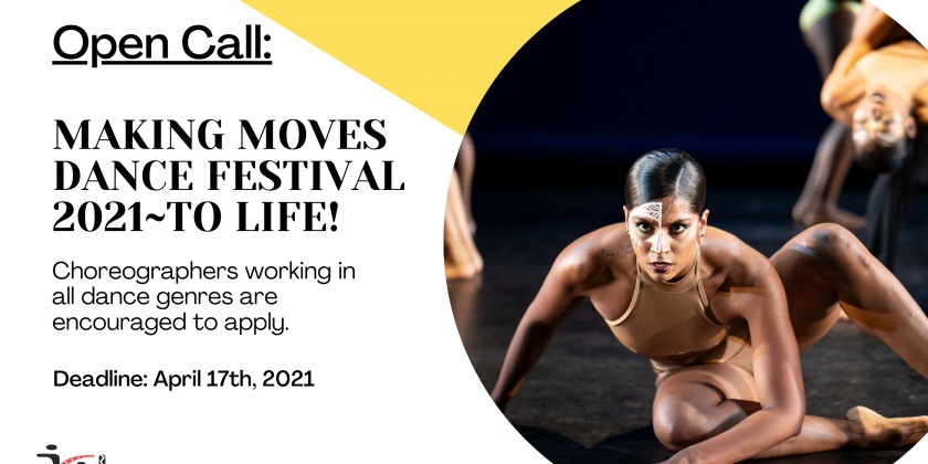 DANCE NEWS: Jamaica Center for Arts & Learning Announces Open Call for MAKING MOVES DANCE FESTIVAL 2021