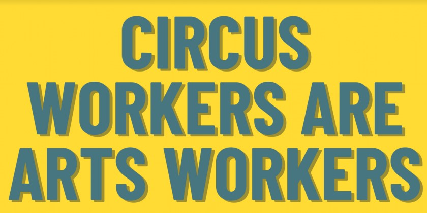"DANCE NEWS: Be An #ArtsHero partners with The American Circus Alliance (ACA) for ""Arts Workers Unite: 100 Days of Activism"""
