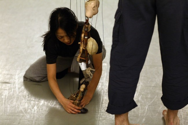 A DAY IN THE LIFE OF NYC DANCE-NAMI YAMAMOTO rehearsing <i>a howling flower</i>