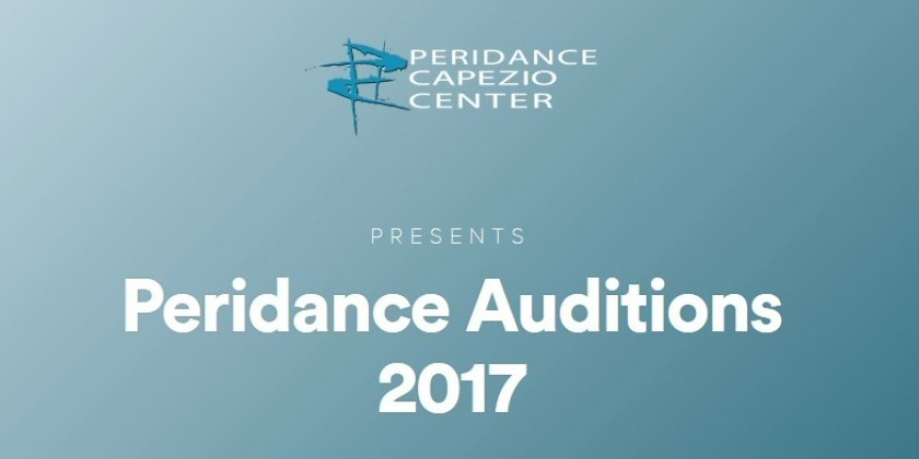 Audition Tour 2017 for Peridance Capezio Center