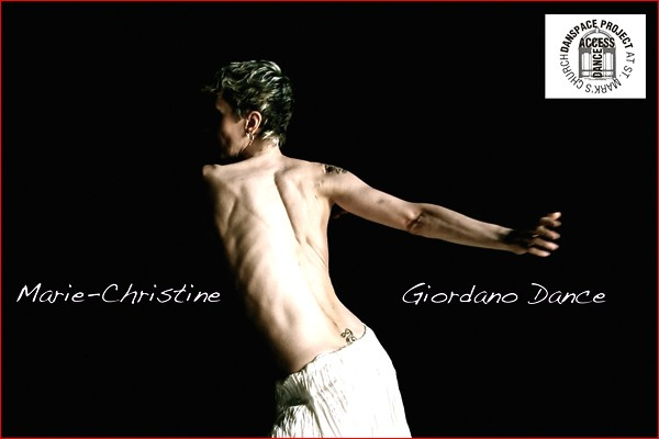 MARIE-CHRISTINE GIORDANO DANCE in the premiere of Giordano's 'IN and OUT'