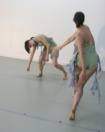 "Amy Kail's ""Barrier Reef"" danced by Andrea Shasgus (left) and Amy Kail."