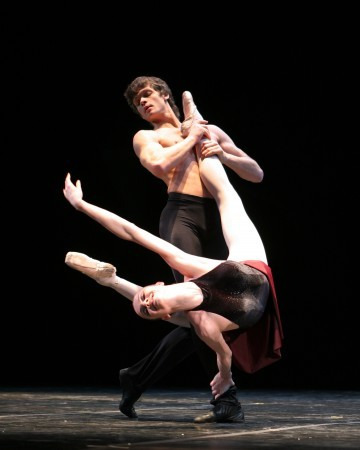 Maria Abashova and Yuri Smekalov of Eifman Ballet, 2007