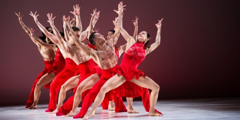 Felicidades, Ballet Hispánico, On Being Named One of America's Cultural Treasures By Ford Foundation