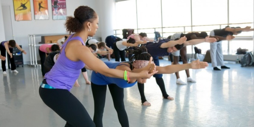 "Ailey ""Ticket-to-Dance"" Offers FREE Classes To Performance Attendees‏"