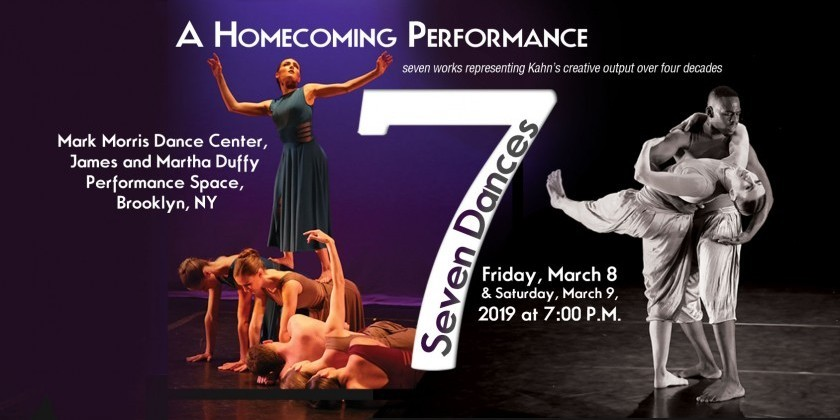 """Seven Dances,"" a homecoming performance by Hannah Kahn Dance Company"
