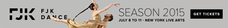 Get tickets for FJK's 2015 Season at New York Live Arts