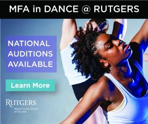 MFA in Dance at Rutgers