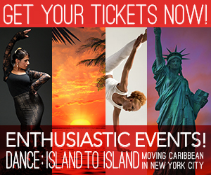 Get Your Tickets Now Dance Island to Island Moving Caribbean in New York City November 16th