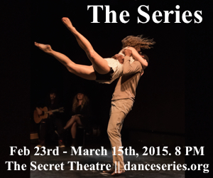 Moving Beauty Series from Feb 23- March 15th 2015 at the Secret Theater