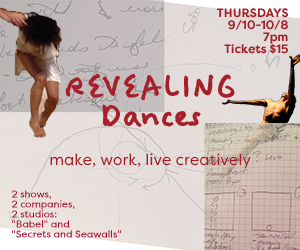 Revealing Dances make work live creatively