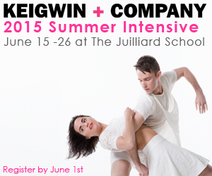 Keigwin+Company 2015 Summer Intensive at The Juilliard School