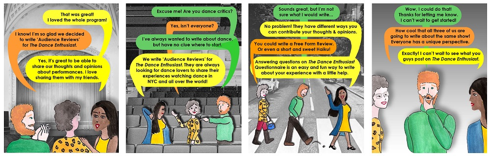 Audience reviews for audiences the dance enthusiast