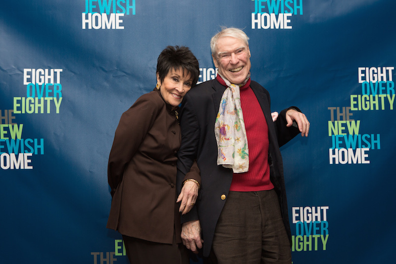 Chita Rivera leans on Jacques d'Amboise's shoulder