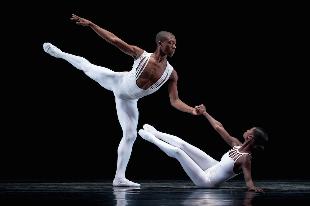 DTH's Da'Von Doane and Ashley Murphy in Dancing on the Front Porch of Heaven. Photo: Rachel Neville