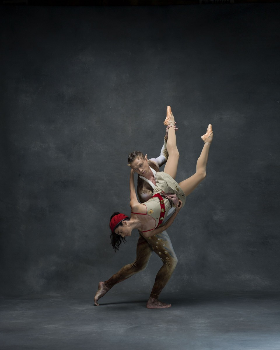 Lar Lubovitch Dance Company  aAAAAAAAA€AAAAAAAAœArtemis in AthensaAAAAAAAA€AAAAAAAA  Pictured: Guest artist Alessandra Ferri and Lar Lubovitch Company dancer Tobin Del Cuore  Photo by: NYC Dance Project